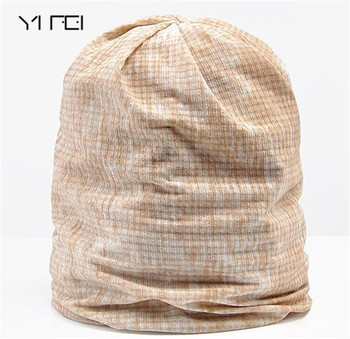 YIFEI Newly Multi Soft and Breathable Hats for Men Women Beanies For Ladies Summer Hat Thin Camouflage Hip Hop Beanies outdoor