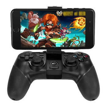 IOS Tablet PC Telefon IPEGA PG-9077 PG 9077 Kablosuz Gamepad Bluetooth Joystick Game Controller için TURBO Fonksiyonu ile Android